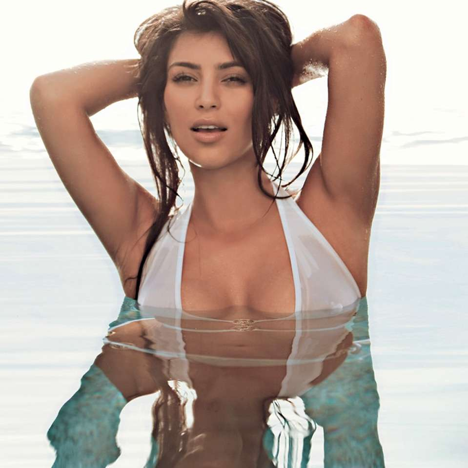 Kim Kardashian Foto: Revista FHM