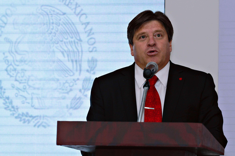 Miguel Herrera, director técnico de México. Foto: Imago 7