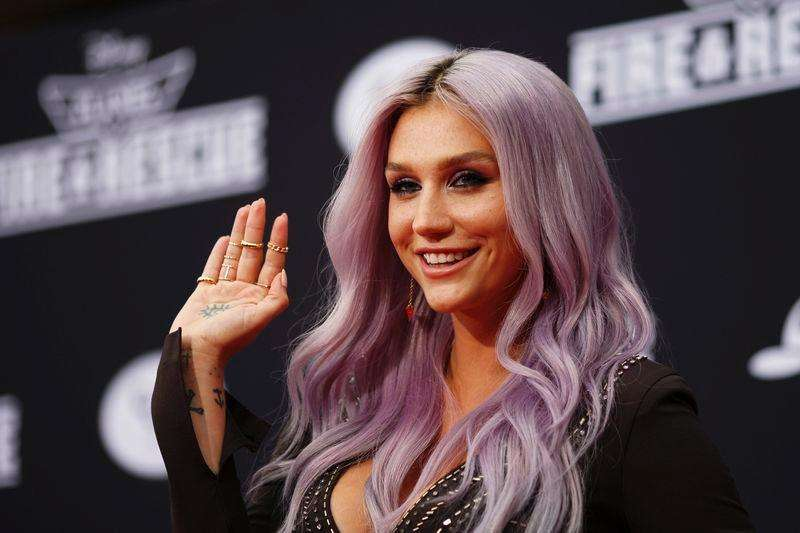 "Recording artists Kesha arrives to the premiere of ""Planes: Fire & Rescue"" at the El Capitan Theater in the Hollywood section of Los Angeles, California in this file photo from July 15, 2014. Foto: David McNew/Reuters"