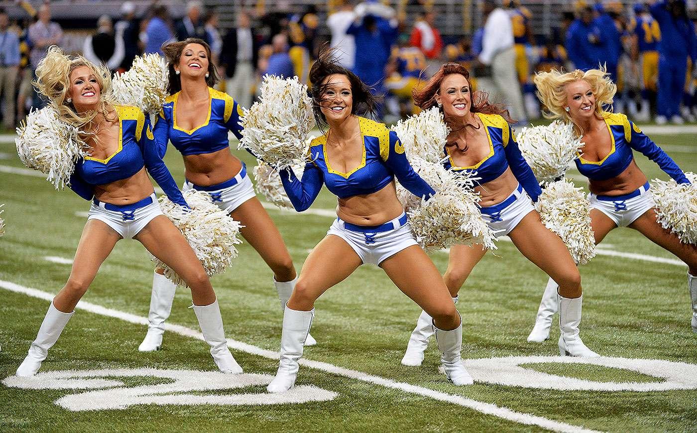 Las bellas porristas animaron a los fanáticos en la semana 7 de la NFL 2014. Foto: Getty Images