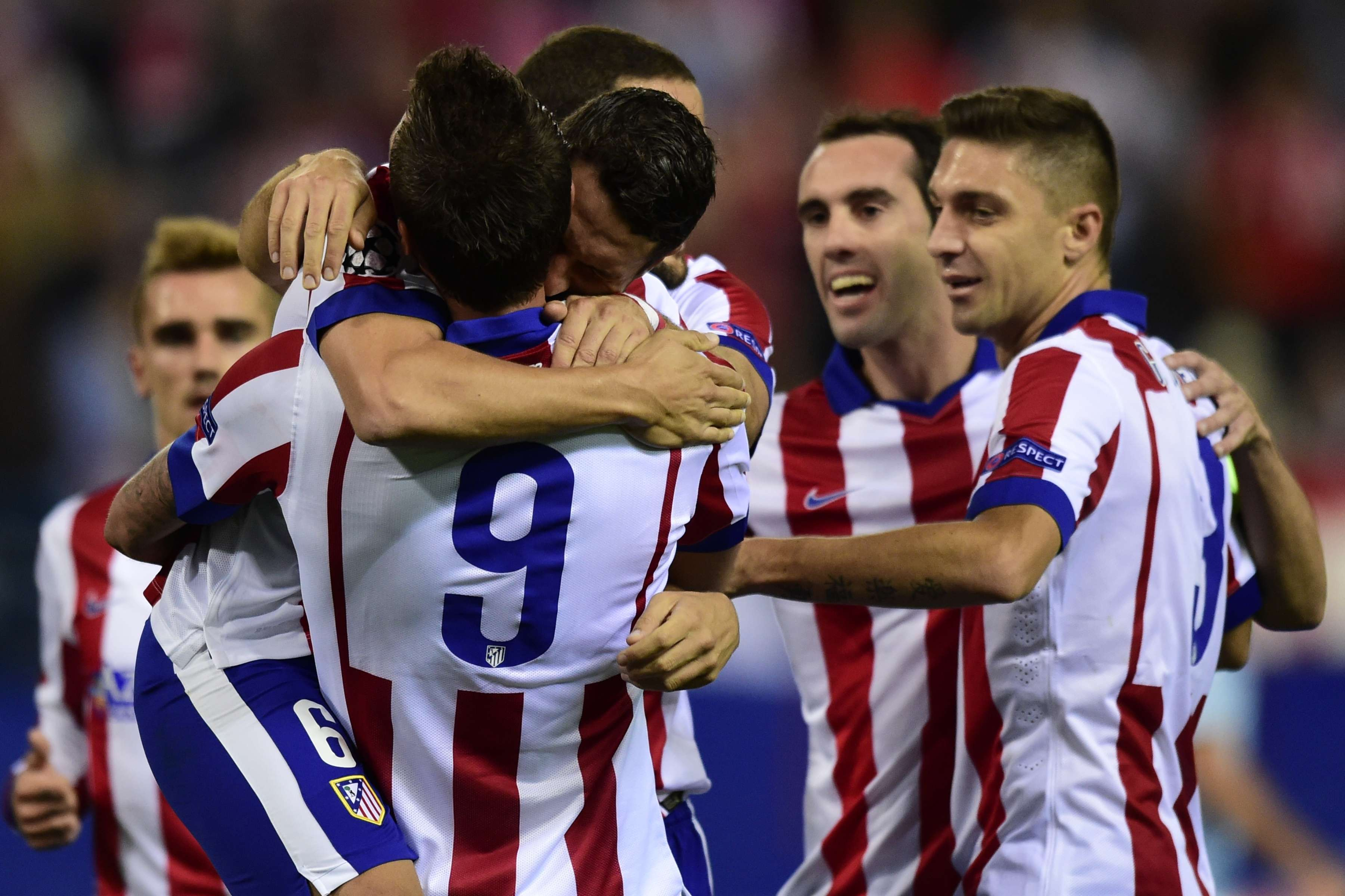 Atlético de Madrid consolidou sua recuperação e está na vice-liderança do Grupo A Foto: Javier Soriano/AFP