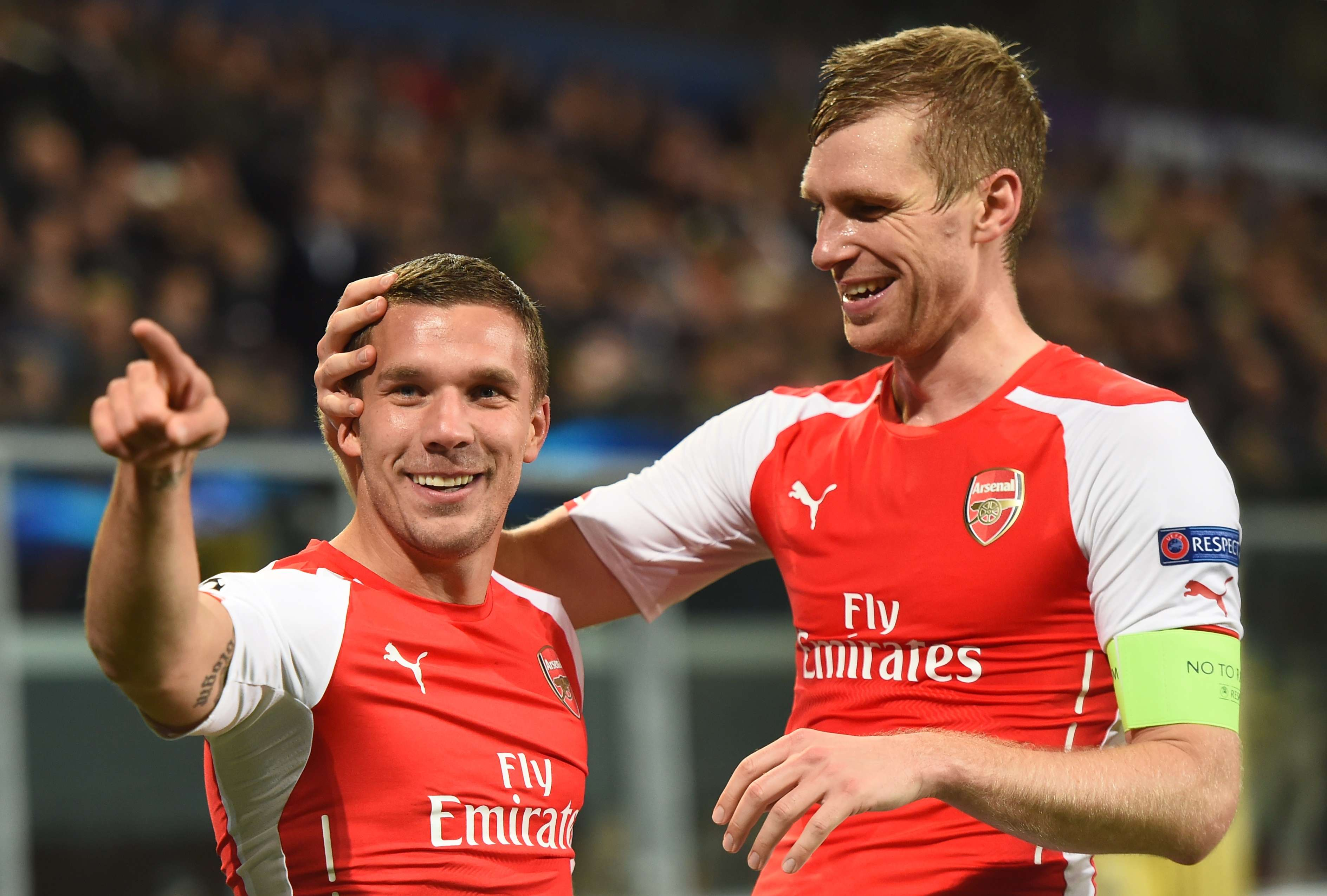 Arsenal conseguiu dois gols nos minutos finais para sair com virada Foto: Emmanuel Dunand/AFP