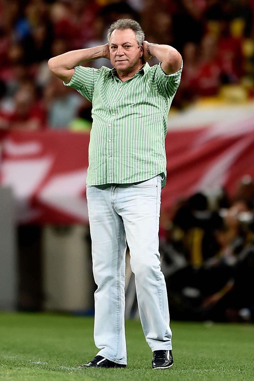 Abel Braga lamenta derrota no Maracanã Foto: Buda Mendes/Getty Images