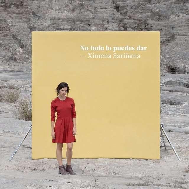 Foto: Instagram/ Ximena Sariñana