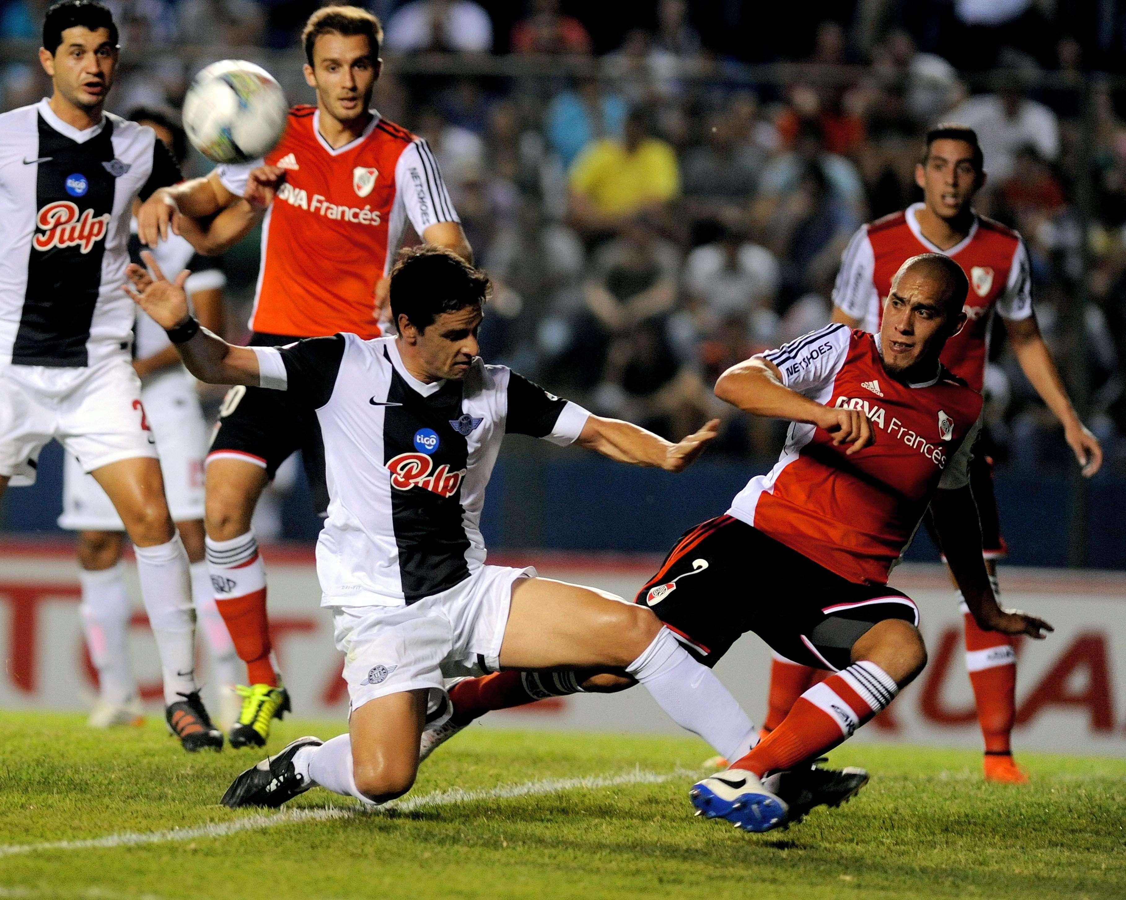 River le ganó a Libertad 3 a 1 en Paraguay Foto: Agencias