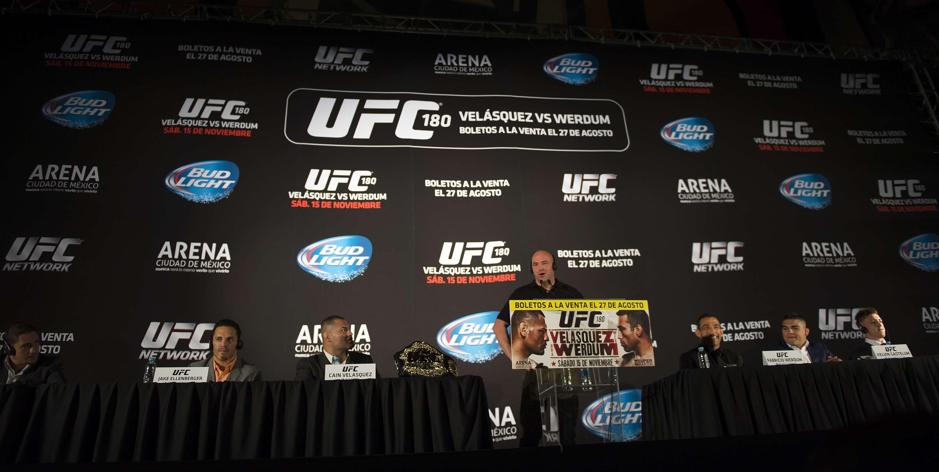 La cartelera del UFC 180 ha sufrido varias modificaciones. Foto: Mexsport