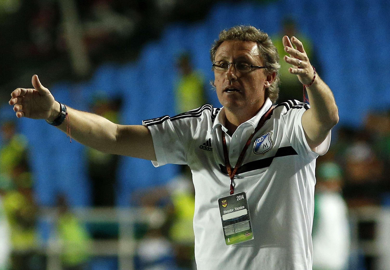 Ricardo Lunari, técnico de Millonarios. Foto: Getty Images