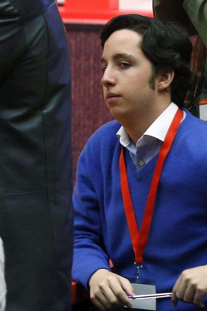 Fotografía de archivo, del 24/03/2014, de Francisco Nicolás G.I, el joven de veinte años detenido por haberse hecho pasar por asesor del Gobierno y estar ahora acusado de falsedad documental, estafa y usurpación de funciones públicas. Foto: EFE en español