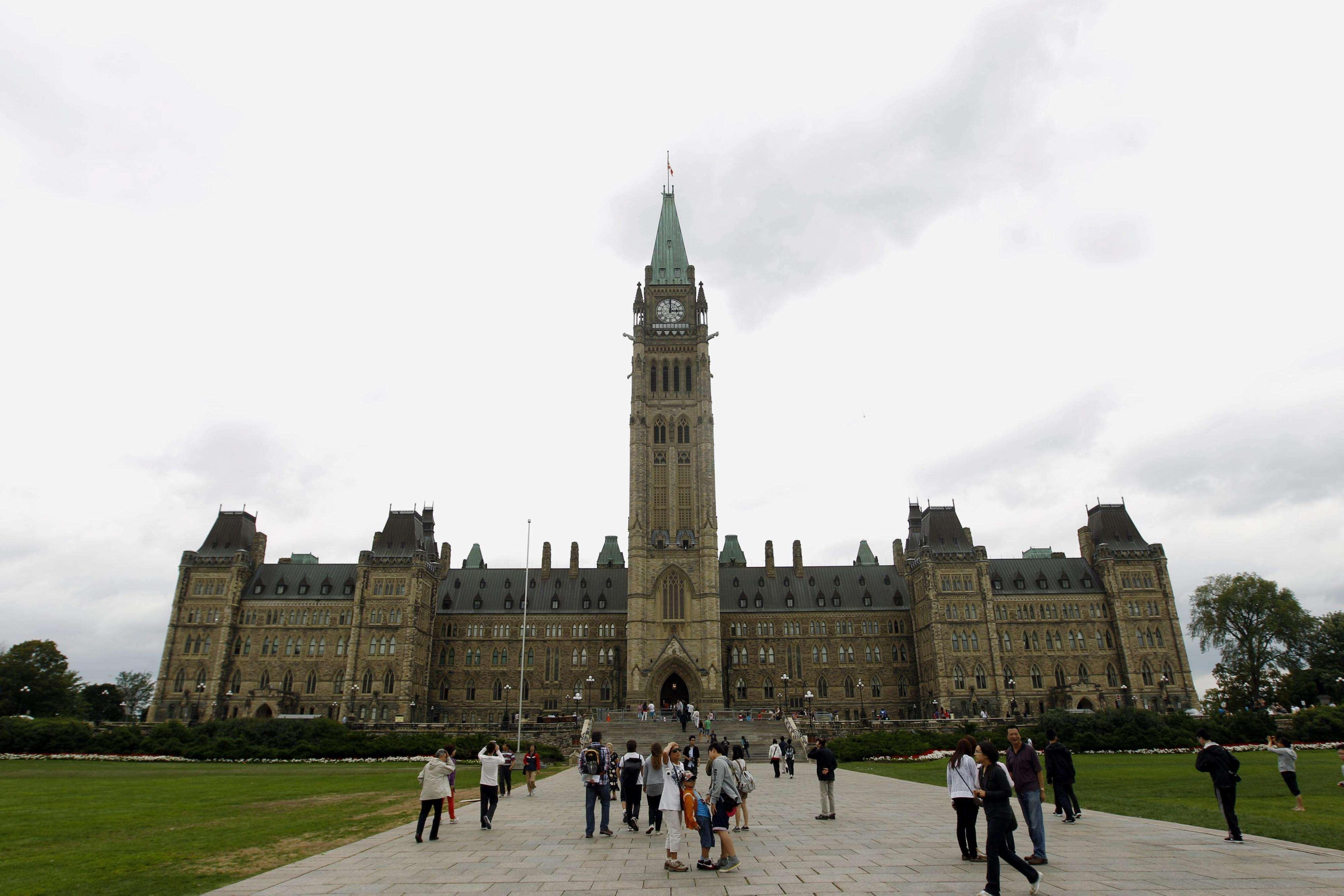 Imagen de archivo que muestra la fachada del Parlamento en Ottawa, Canadá. Foto: Archivo/EFE en español