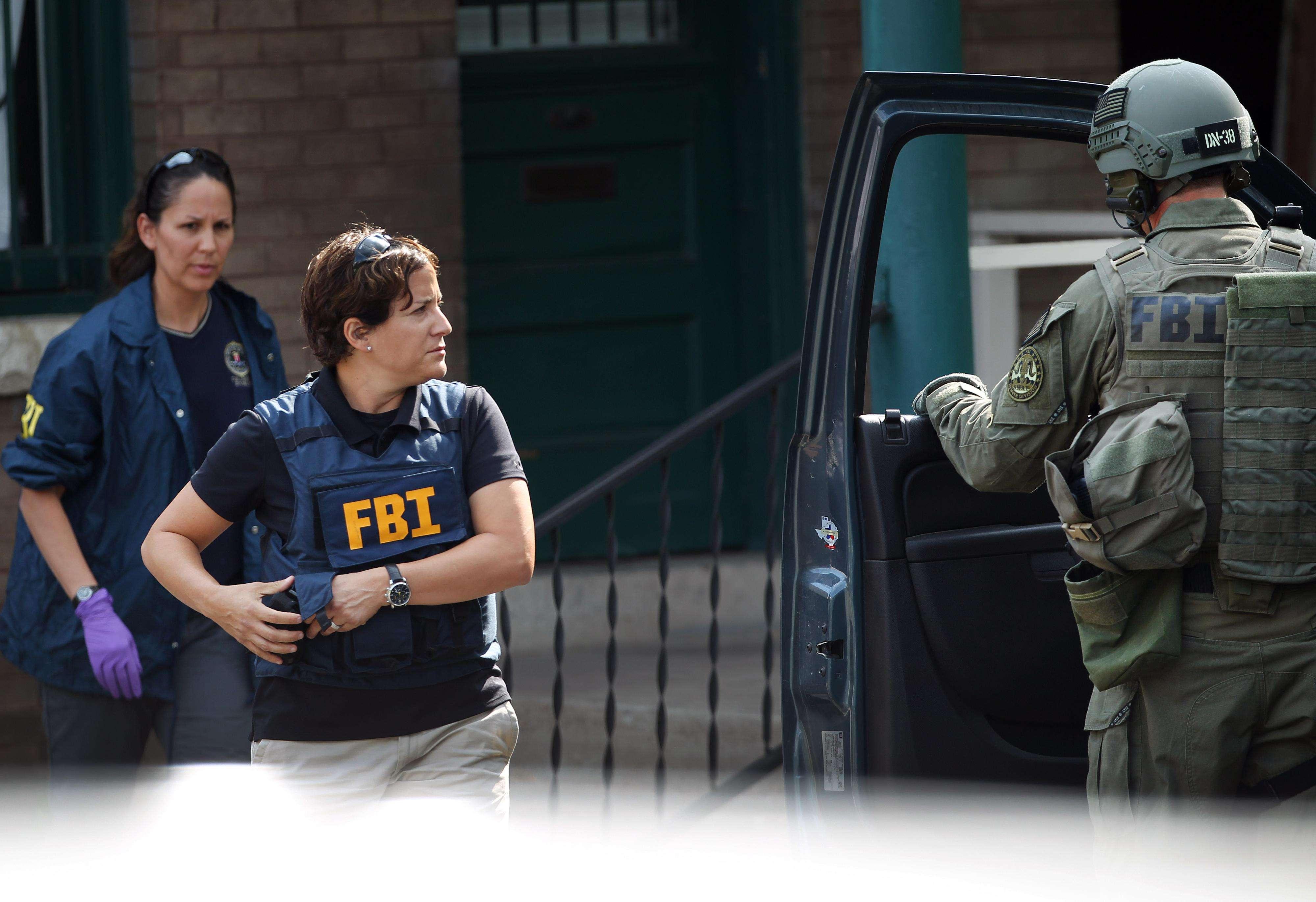 Las jóvenes fueron interceptadas por agentes del FBI en el Aeropuerto de Francfort, en Alemania. Foto de archivo. Foto: AP en español