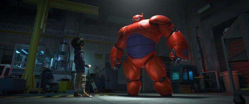 "Hiro Hamada transforms his closest companion, a robot named Baymax, into a high-tech hero in ""Big Hero 6"". Foto: Disney/Reuters"