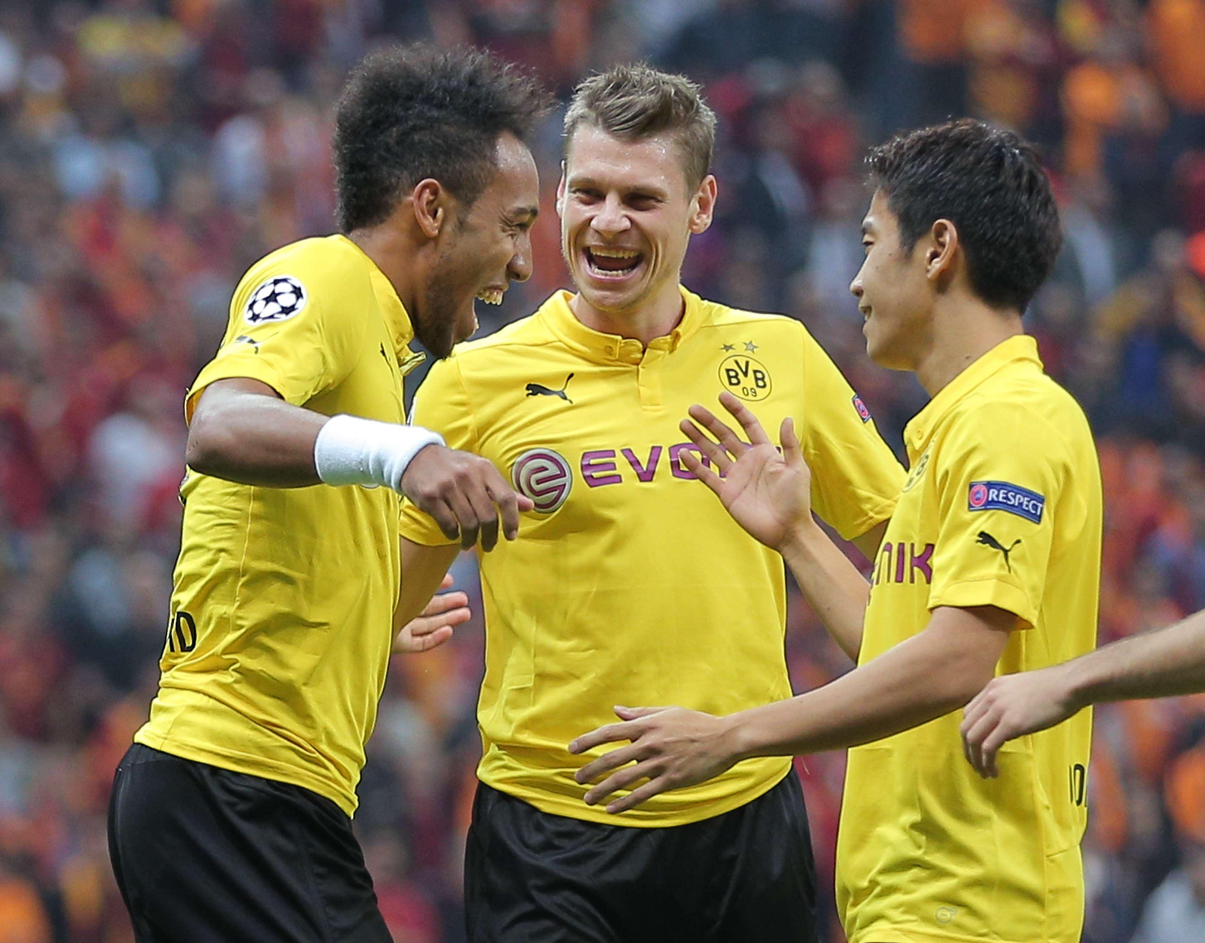 Borussia Dortmund se mantiene con paso perfecto en la fase de grupos de la Champions League. Foto: AP