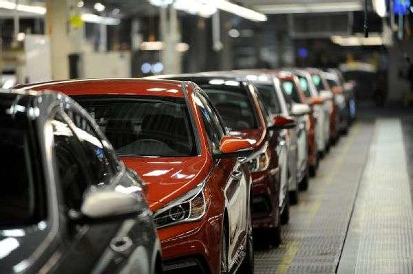 Visitamos la planta de Hyundai en Montgomery, Alabama para conocer la producción del Hyundai Sonata, el sedan insignia de la armadora coreana. Foto: Autos Terra MotorTrend