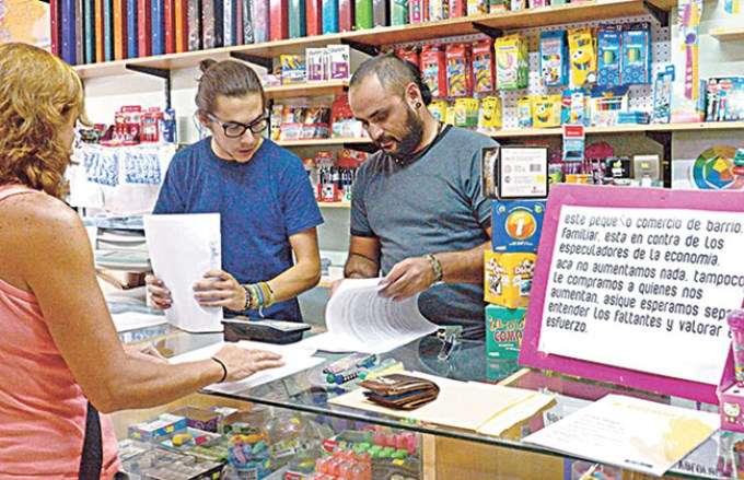 Gabriel Barrios, comerciante neuquino Foto: Web