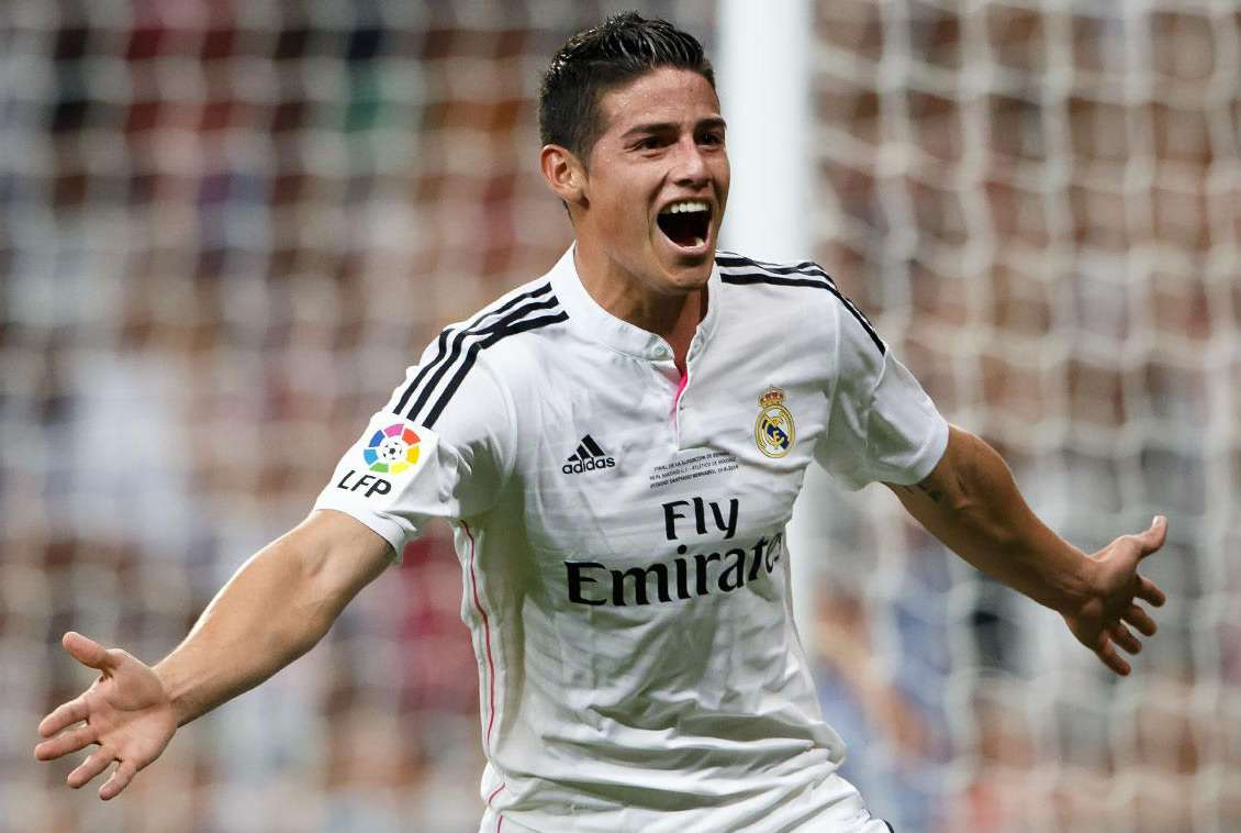 James Rodríguez. Foto: Agencias