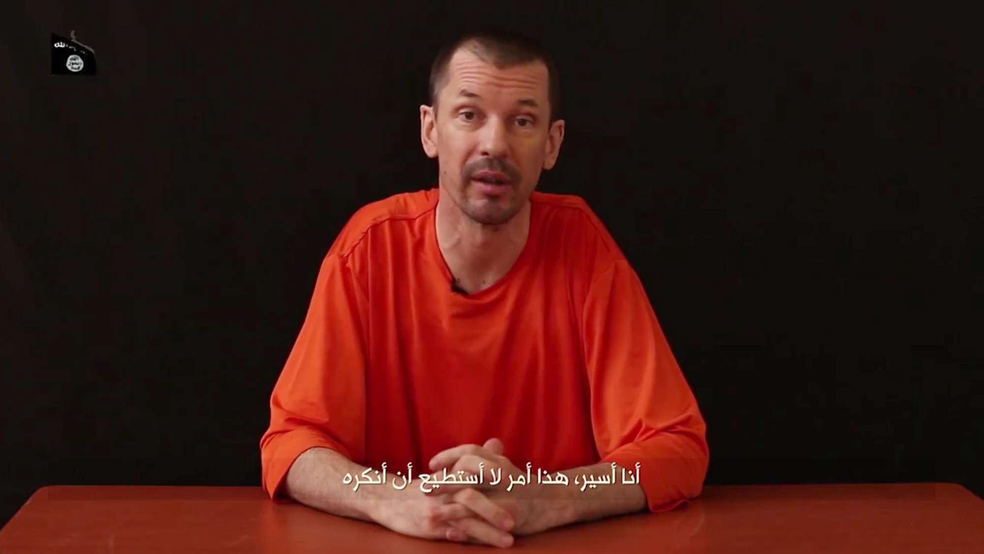 El británico John Cantlie se encuentra en manos del Estado Islámico. Foto: AP en español