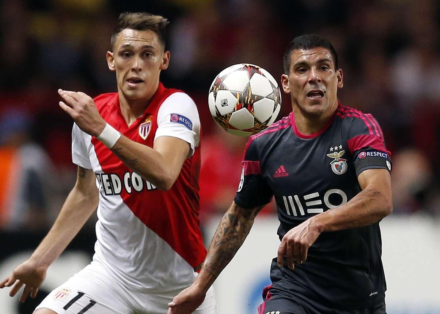 Mónaco y Benfica no se hicieron daño en el estadio Louis II. Foto: AFP