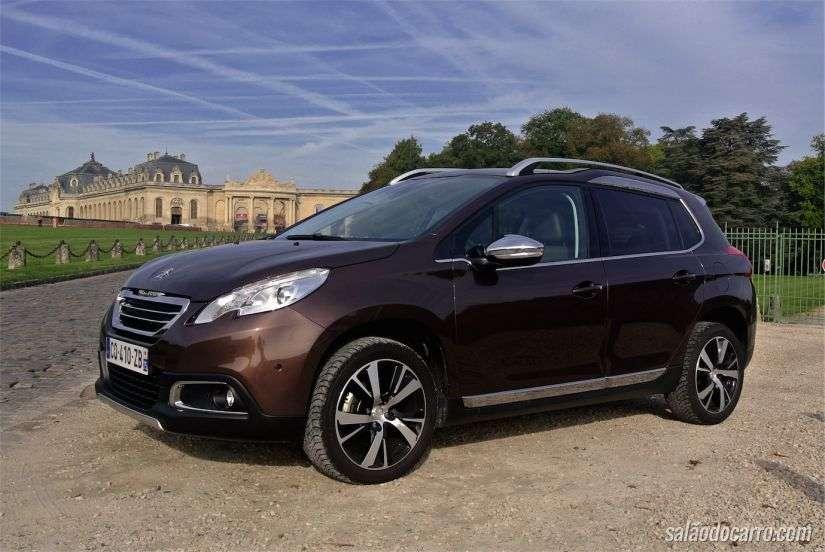 Com o 2008, que está em linha no Brasil, Peugeot aposta no lado requintado dos utilitários compactos. Foto: Reprodução