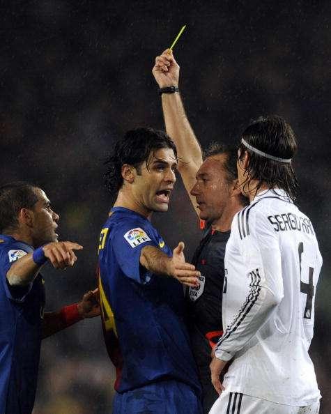Rafael Márquez jugó su último clásico ante Real Madrid en el 2010. Foto: AFP