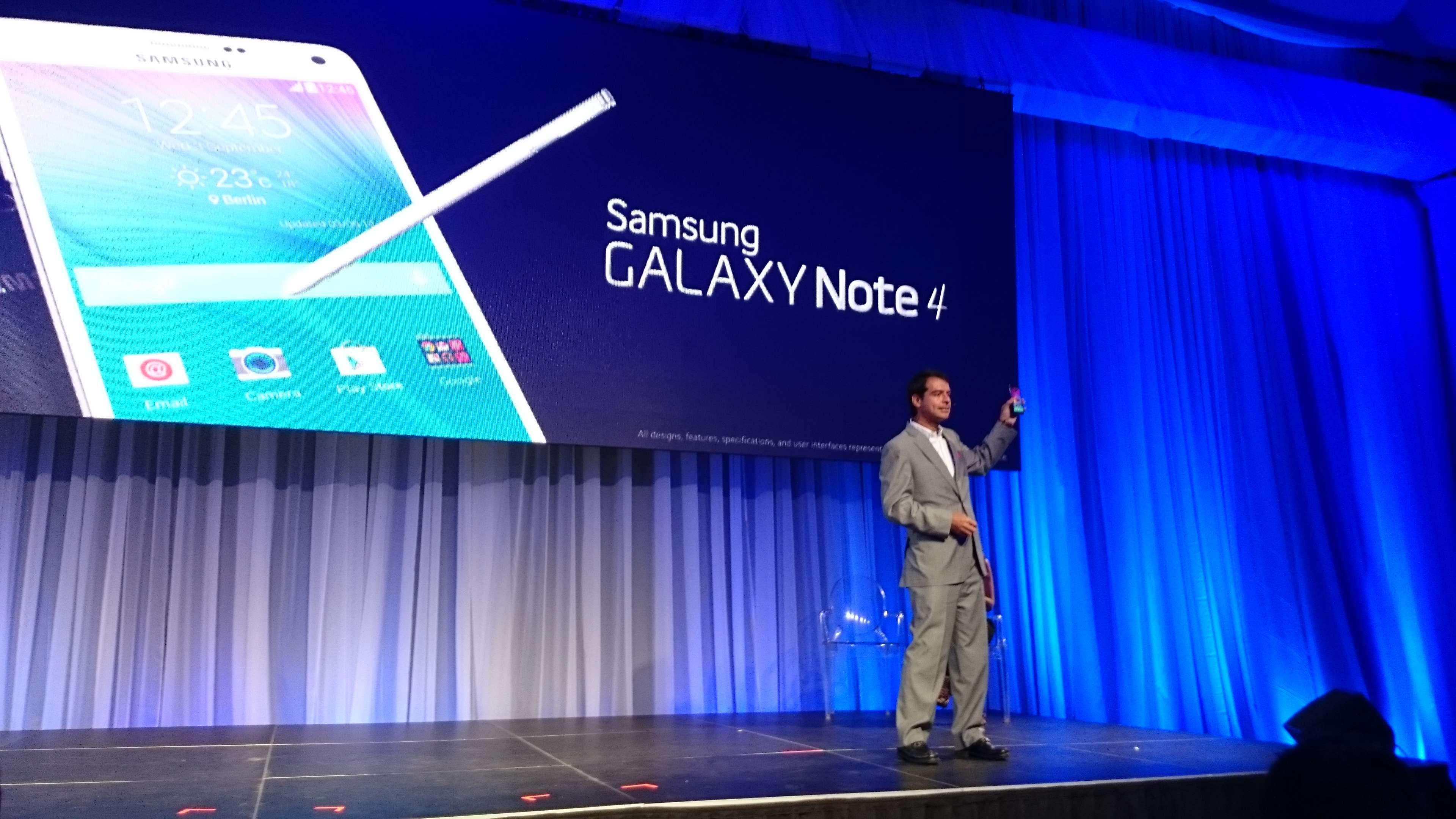 Carlos Mateus, vicepresidente de Samsung Colombia, encabezó la presentación. Foto: Juhani Espinoza/Terra
