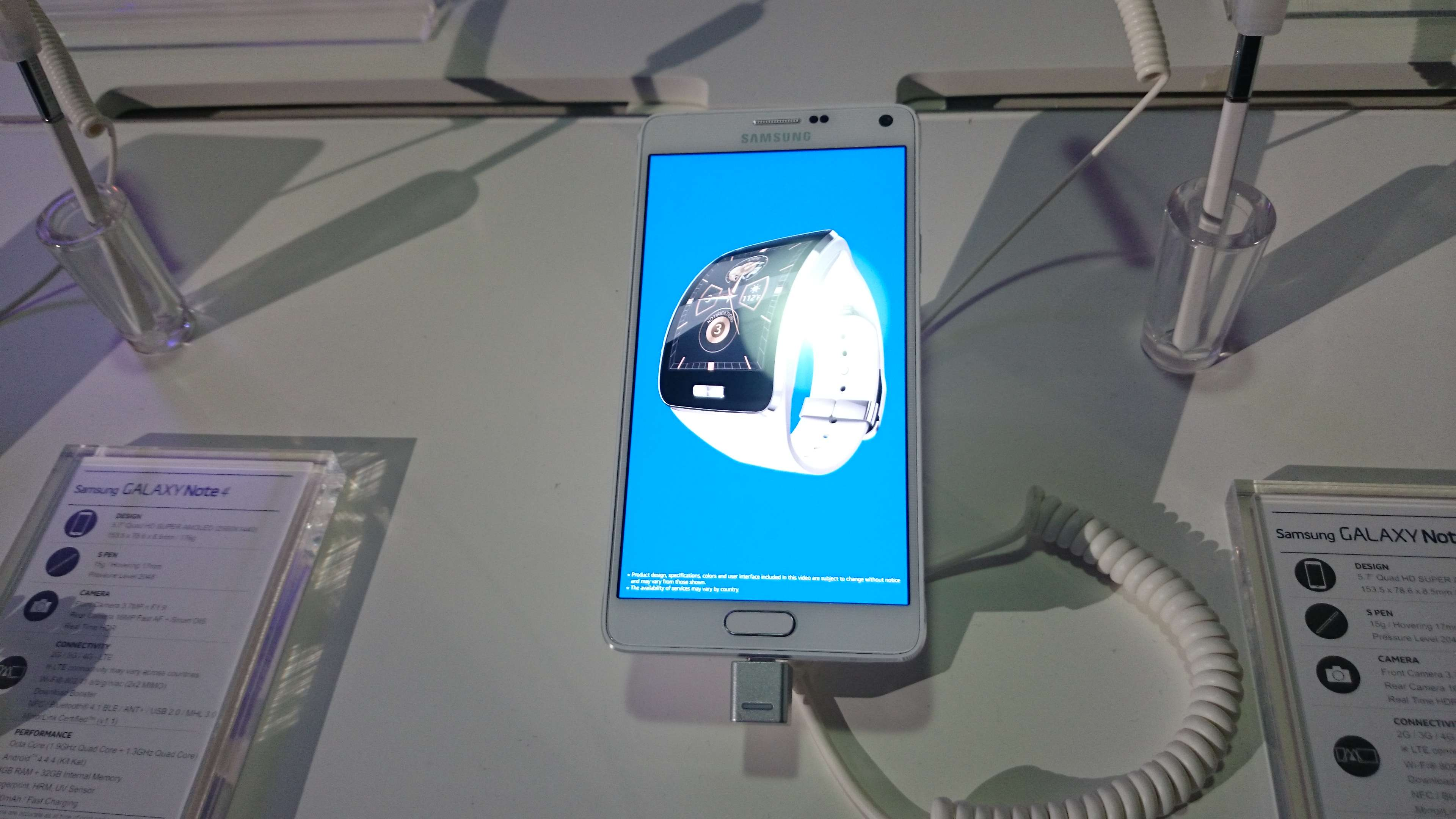 El Galaxy Note 4 tendrá un precio de 13 mil 429 pesos en México. Foto: Juhani Espinoza/Terra