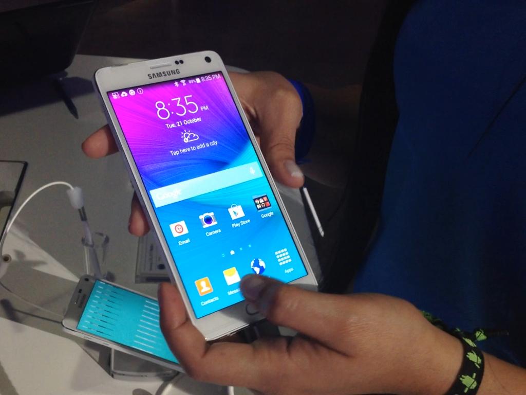 Los directivos de Samsung están comprometidos en seguir innovando para el consumidor latinoamericano. Foto: Juhani Espinoza/Terra