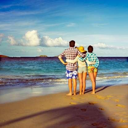 Las vacaciones son un elemento caro que muchos asalariados de clase media no pueden pagar sin sacrificar otra cosa. Foto: Getty Images