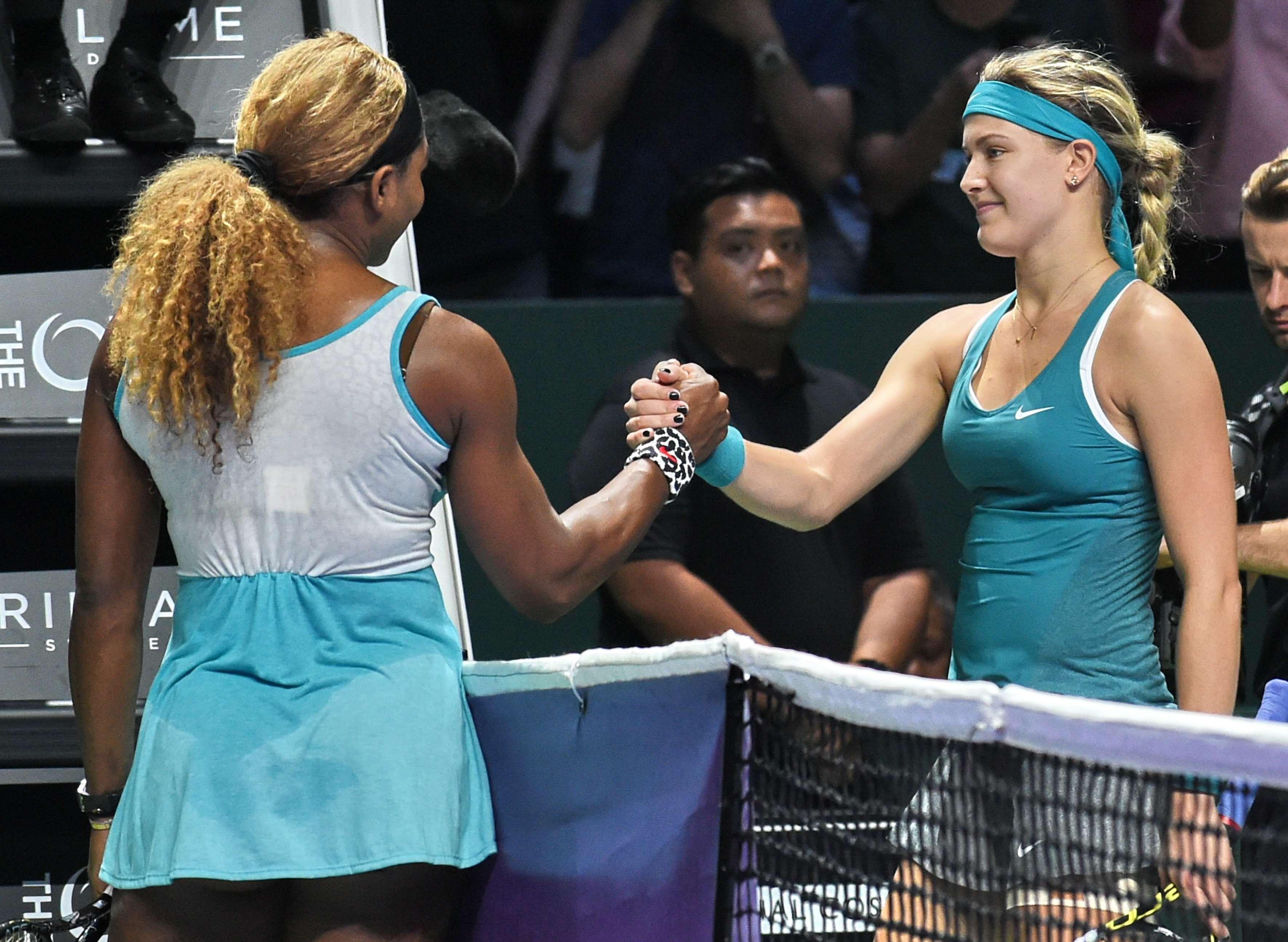Serena ganó en dos sets a la canadiense Bouchard. Foto: AFP
