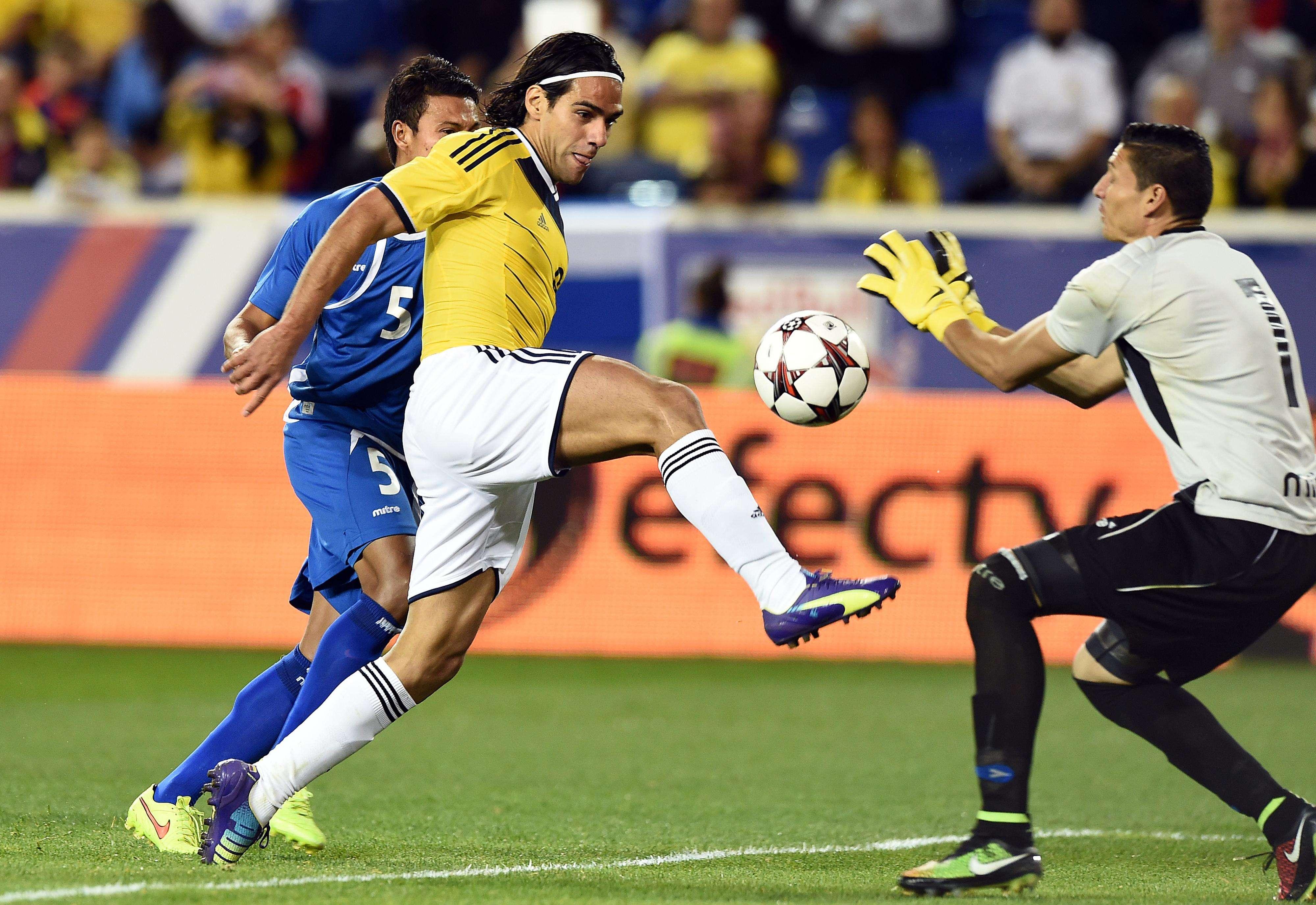 Falcao con la Selección Colombia. Foto: AFP