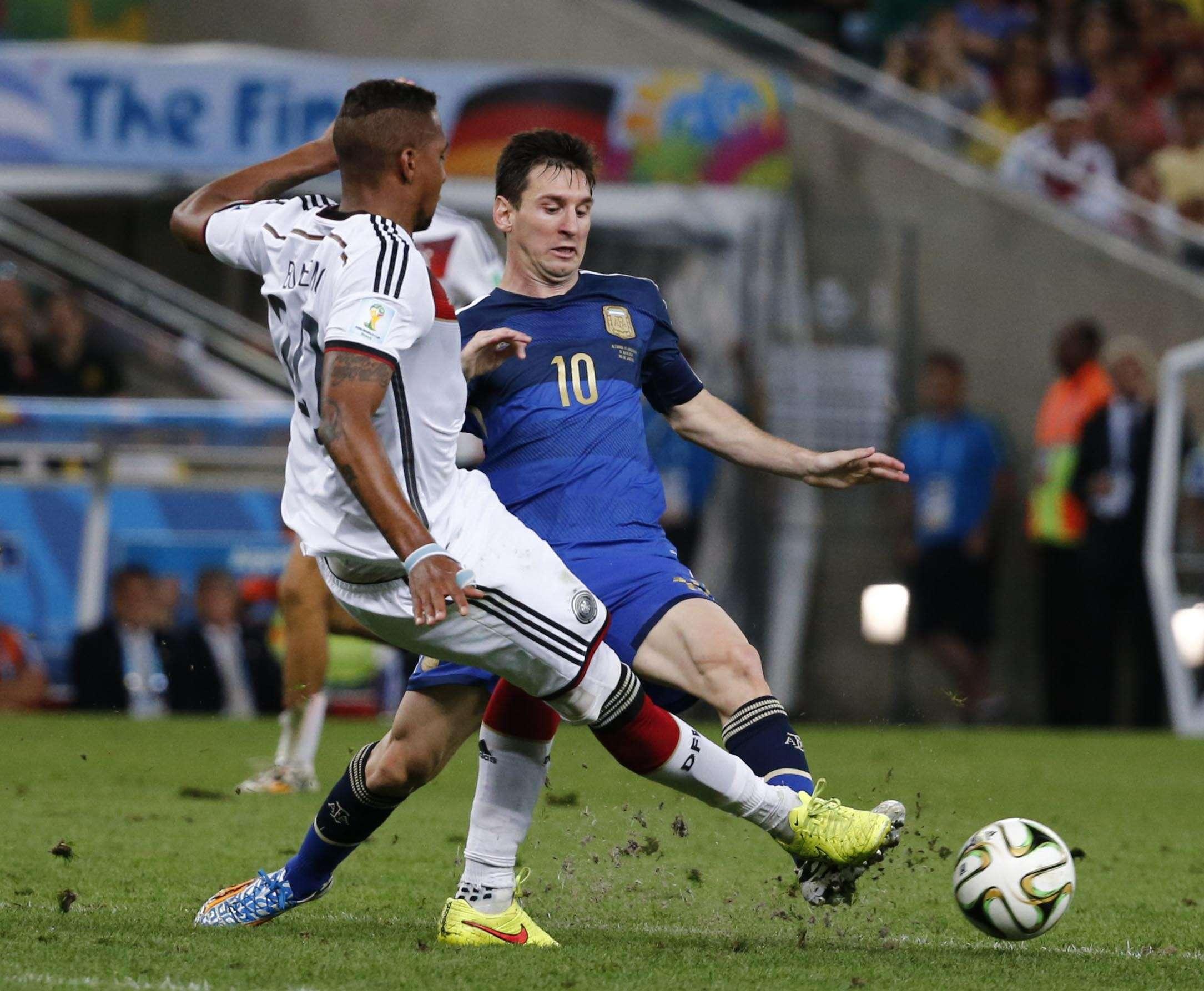 Argentina y Alemania, en los puestos de privilegio Foto: AFP