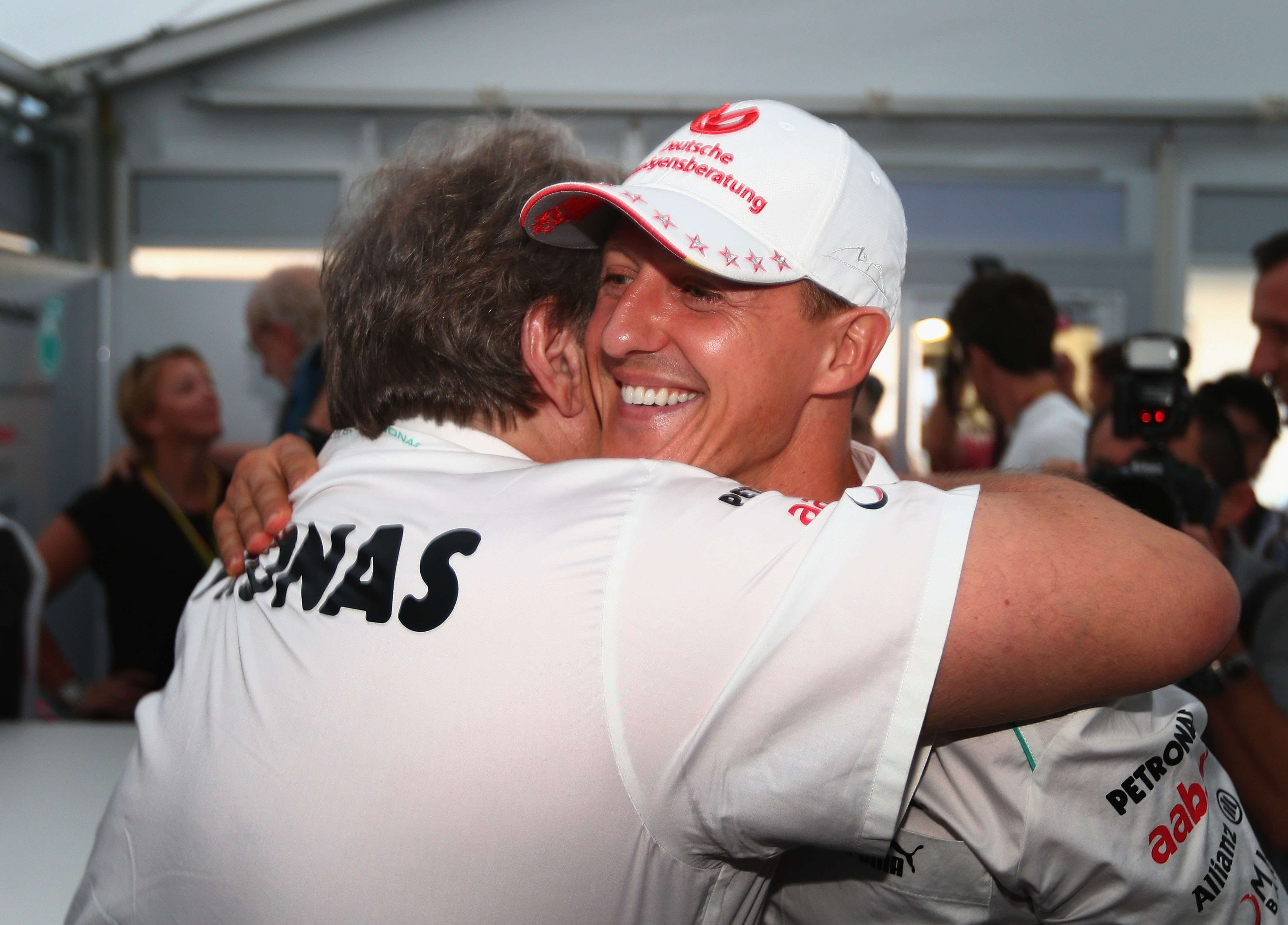 Schumacher. Foto: Getty Images