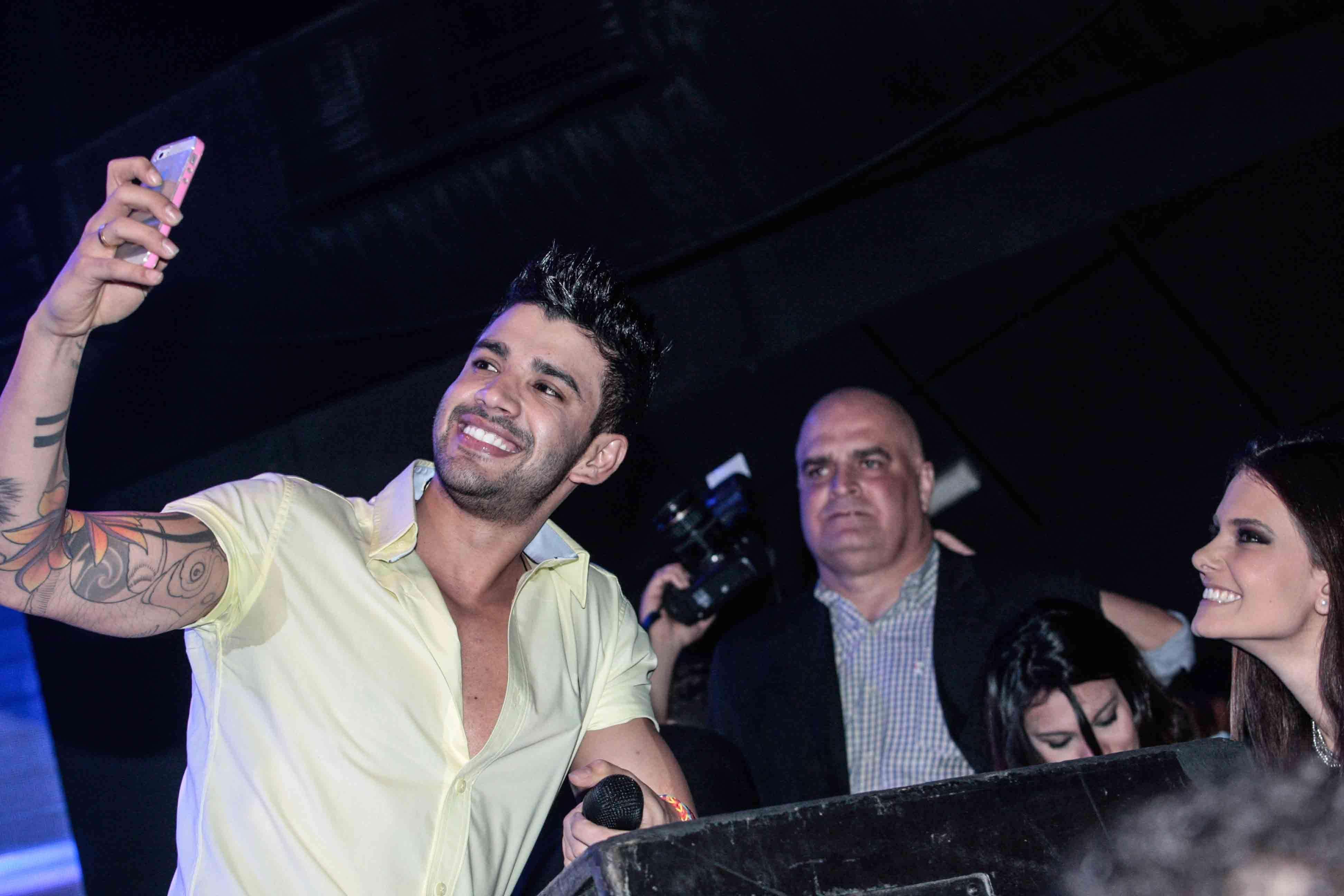 Gusttavo Lima fez show em São Paulo Foto: Leo Franco/AgNews