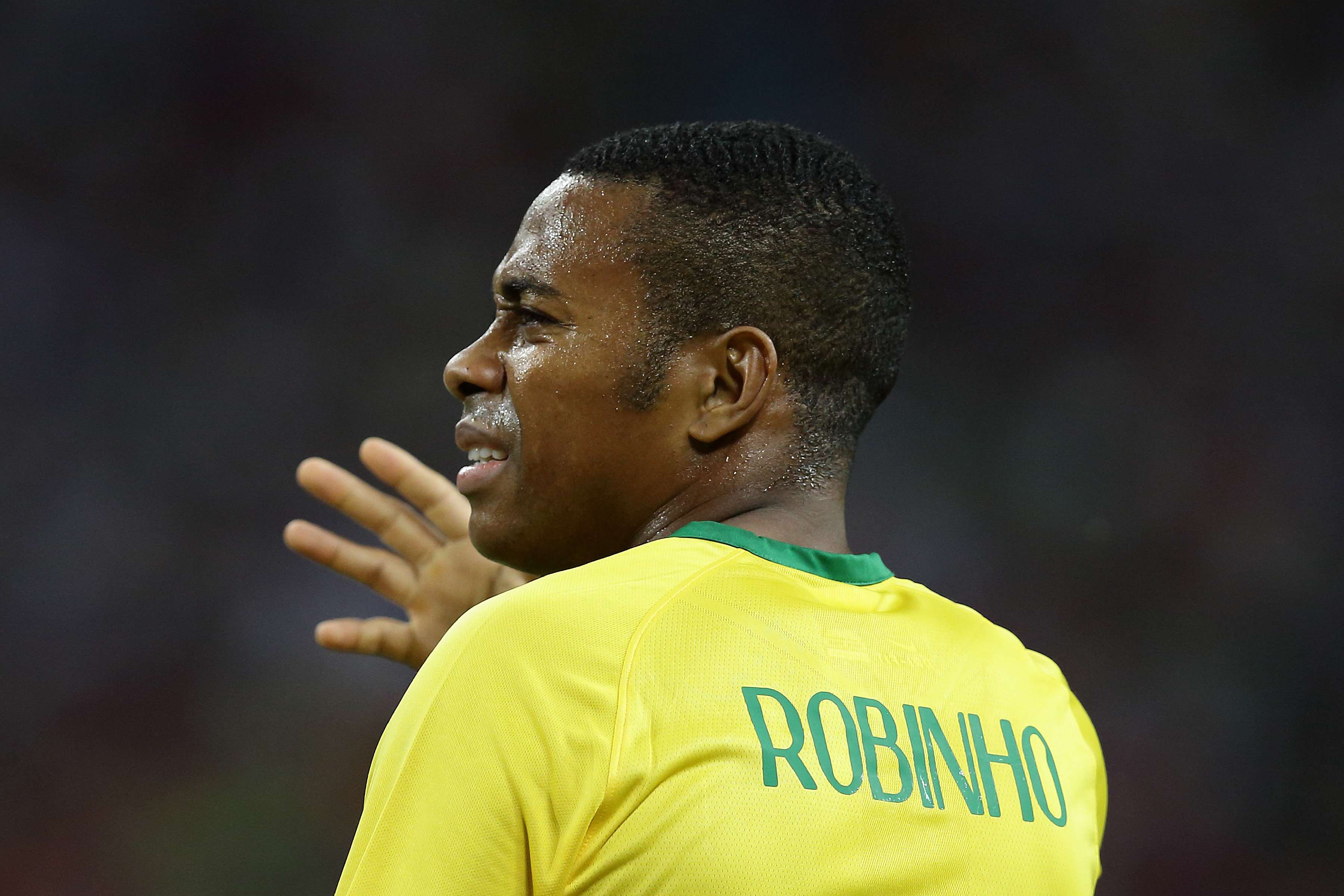 Robinho. Foto: Getty Images