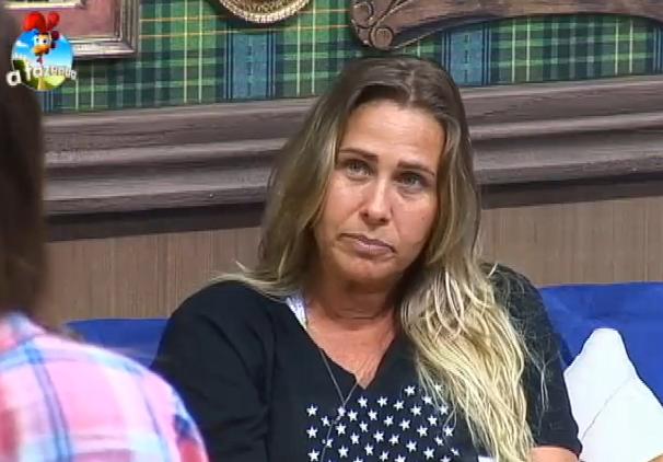 Andréia Sorvetão diz que Paquitas eram exploradas Foto: TV Record/Reprodução