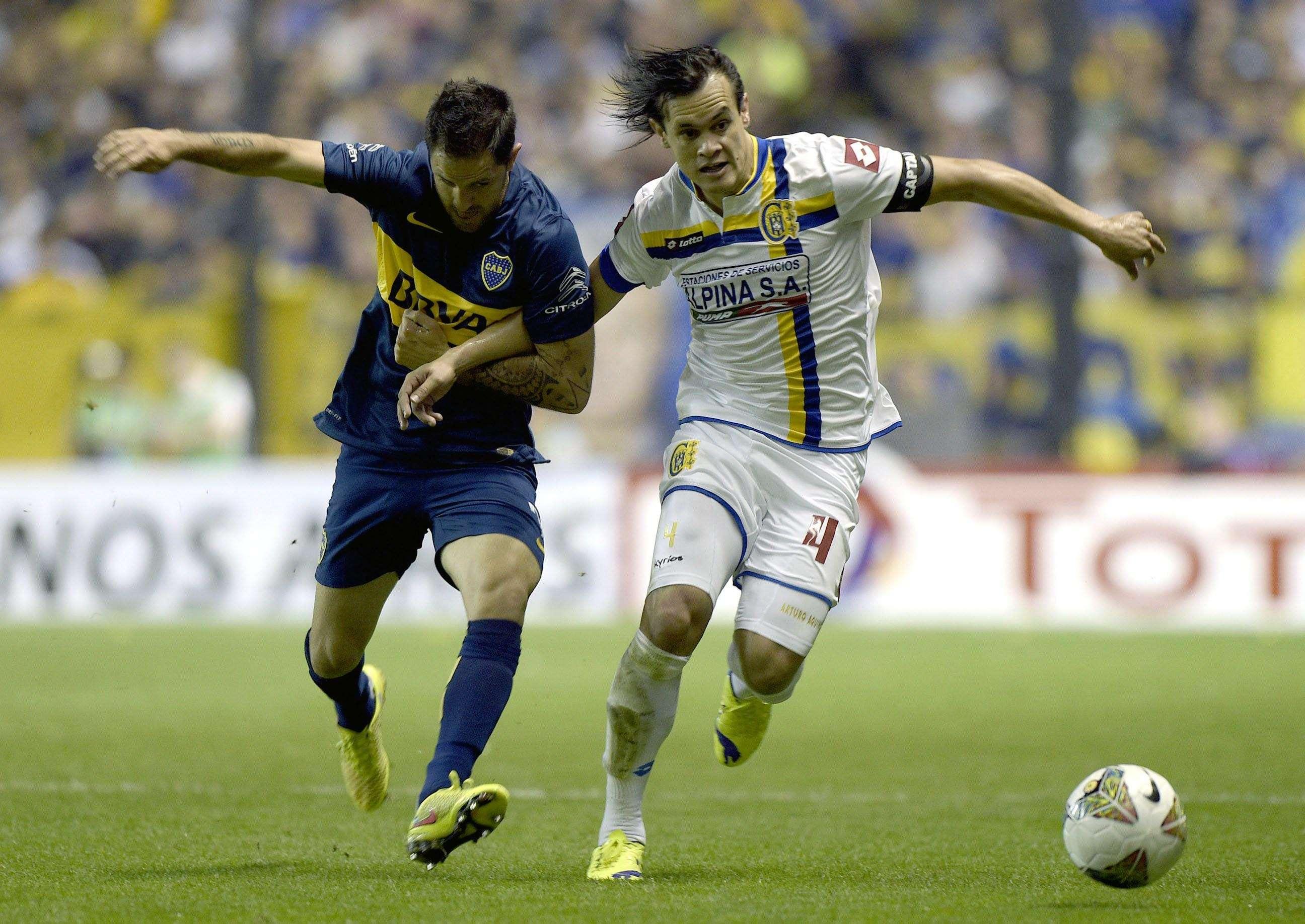 Capiatá y Boca definen octavos de final por la Sudamericana Foto: NA