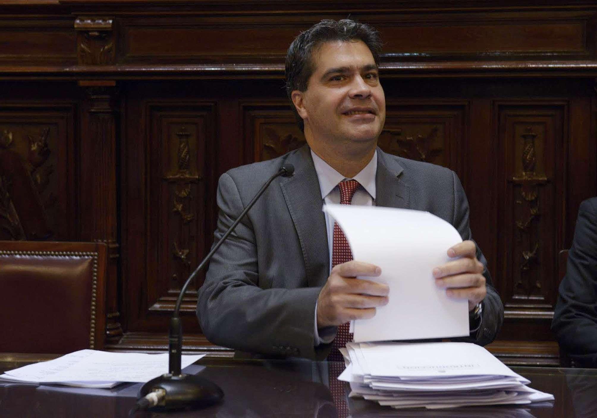 El jefe de Gabinete, Jorge Capitanich Foto: NA