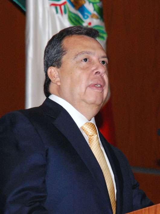 Ángel Aguirre Rivero tomó protesta como gobernador de Guerrero el 1 de abril de 2011.En medio de constantes reuniones de la dirigencia del Partido de la Revolución Democrática (PRD) en las últi Foto: Gobierno de Guerrero