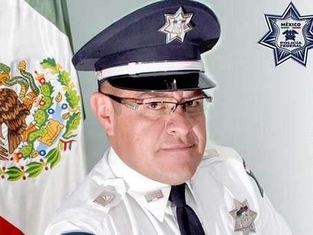 La historia del suboficial Carlos Andrés Pérez Bello fue difundida en la cuenta de Twitter de la Policía Federal. Foto: Twitter/@PoliciaFedMx