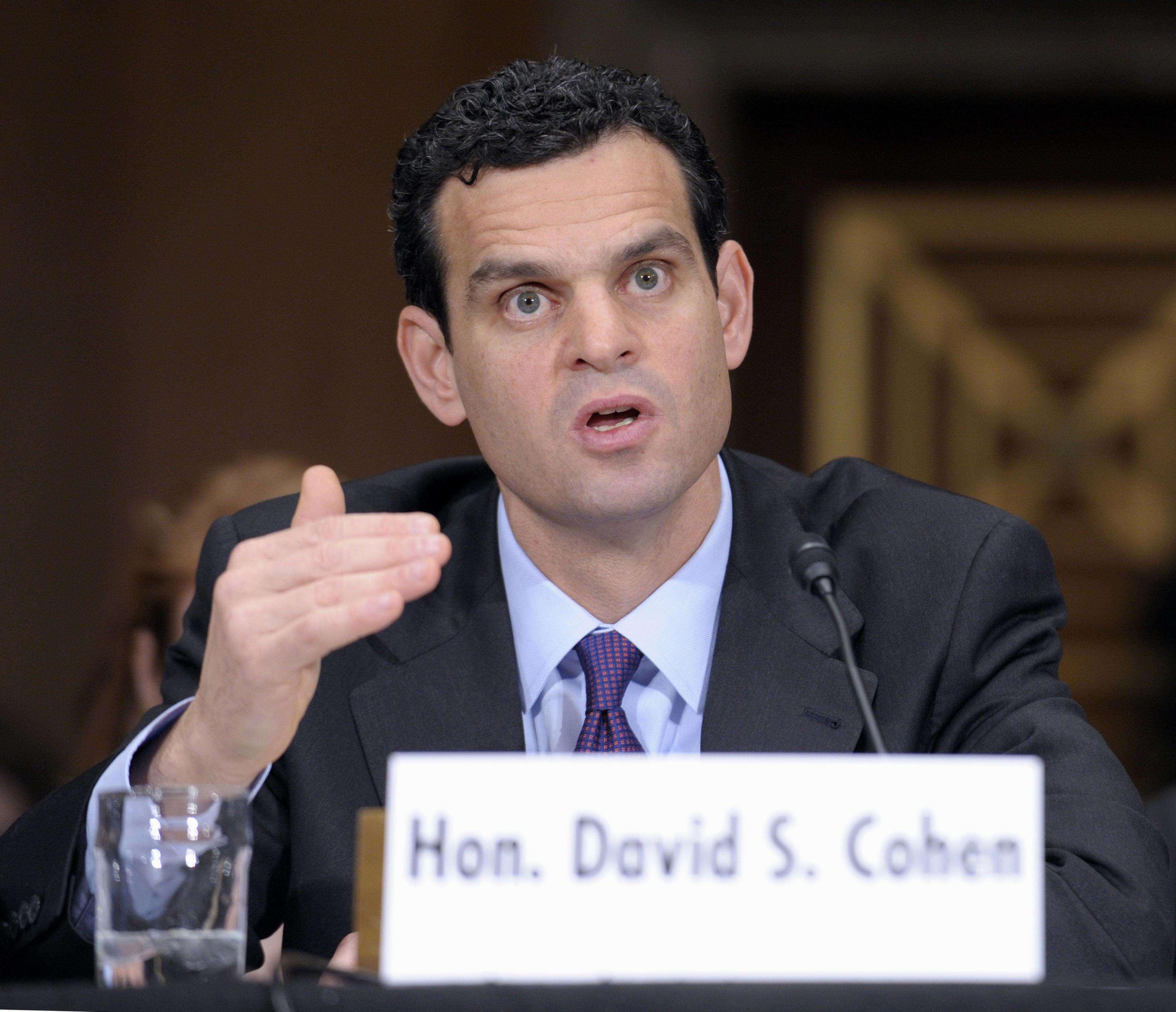 del subsecretario del Tesoro para Terrorismo e Inteligencia Financiera, David S. Cohen, en el Congreso en Washington Foto: AP en español