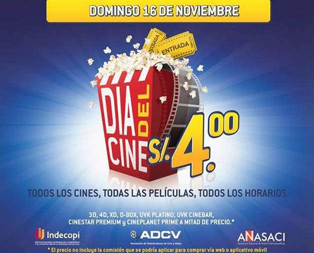 Día del Cine 2014. Foto: Difusión