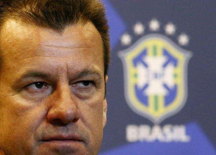 Técnico Dunga durante coletiva de imprensa sobre a seleção brasileira no Rio de Janeiro. 22/07/2014. Foto: Ricardo Moraes/Reuters