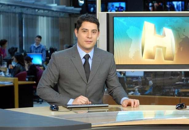 Evaristo Costa sofre pressão para melhorar como âncora. Foto: Divulgação