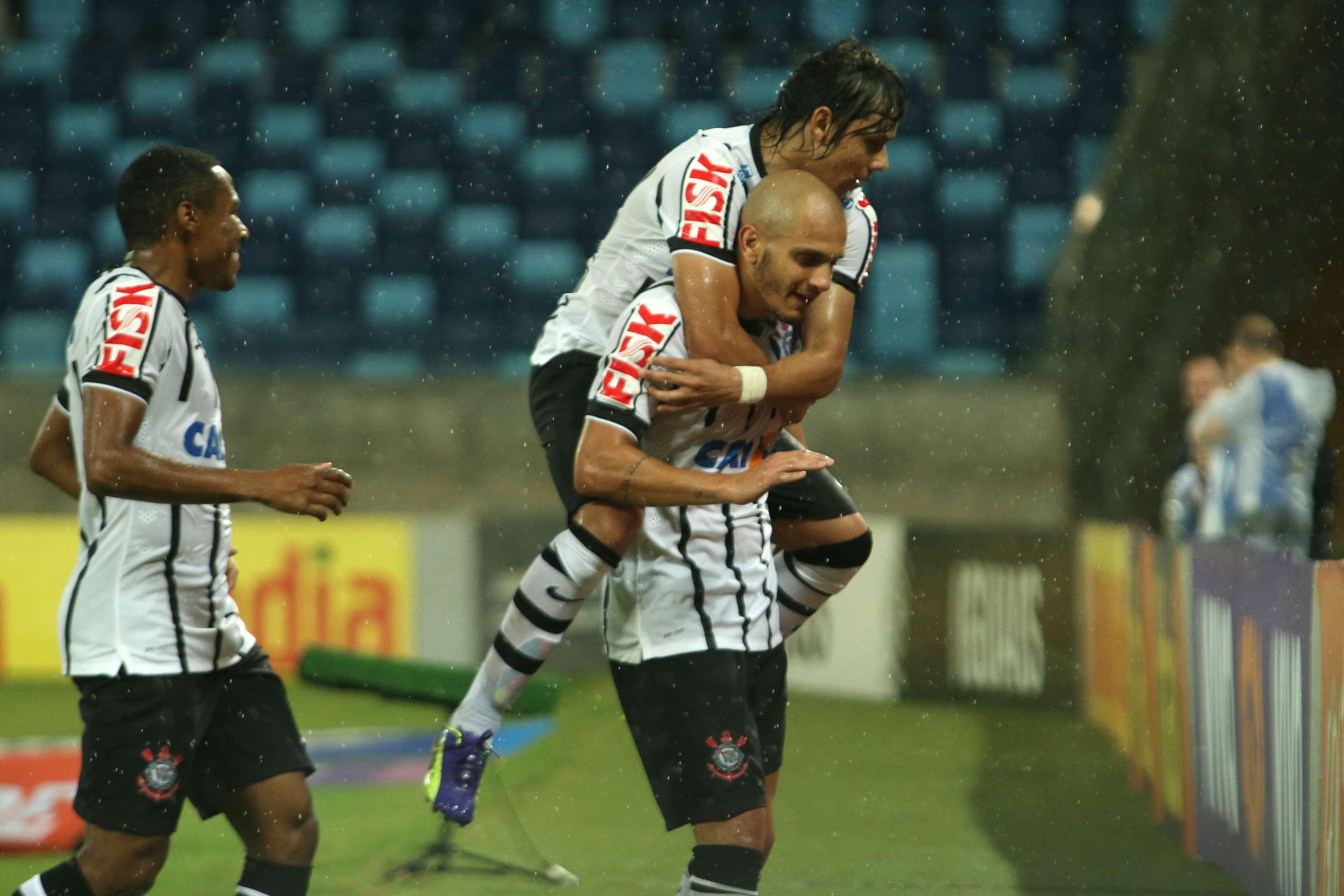 Corinthians conseguiu vitória contra equipe em situação ruim no Brasileiro Foto: Edson Rodrigues/Agência Lance