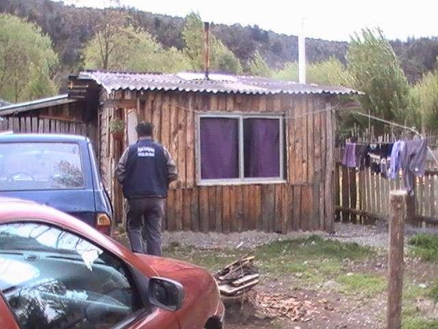 Evangelina Catalán, de 45 años, fue encontrada degollada en su casa del barrio San José, de El Bolsón. Foto: Gentileza