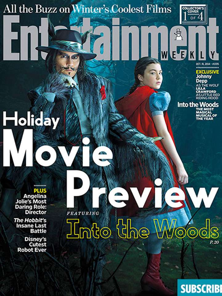 into the woods Foto: Entertainment Weekly