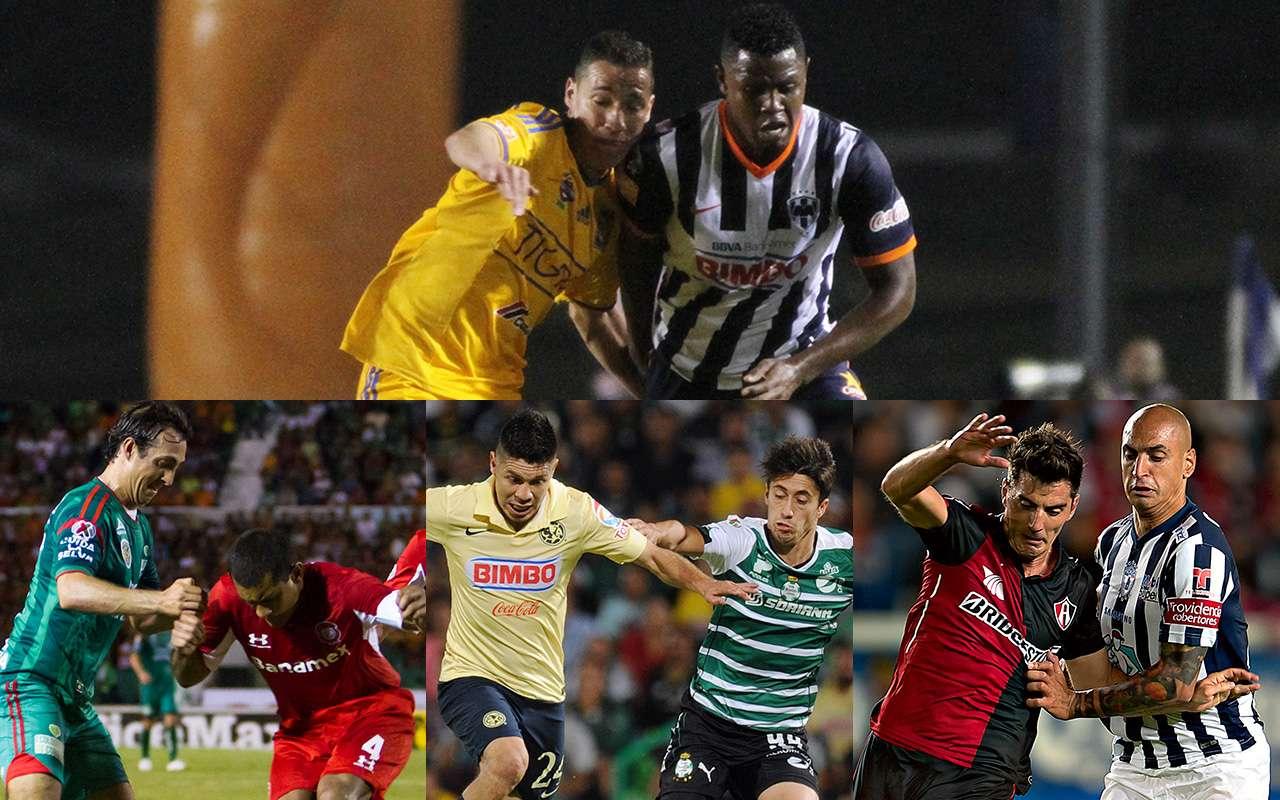 El Clásico Regio se jugará en la jornada 14 y es posible que Tigres y Rayados se vuelvan a encontrar en la Liguilla del Apertura 2014. Foto: Mexsport/Imago7