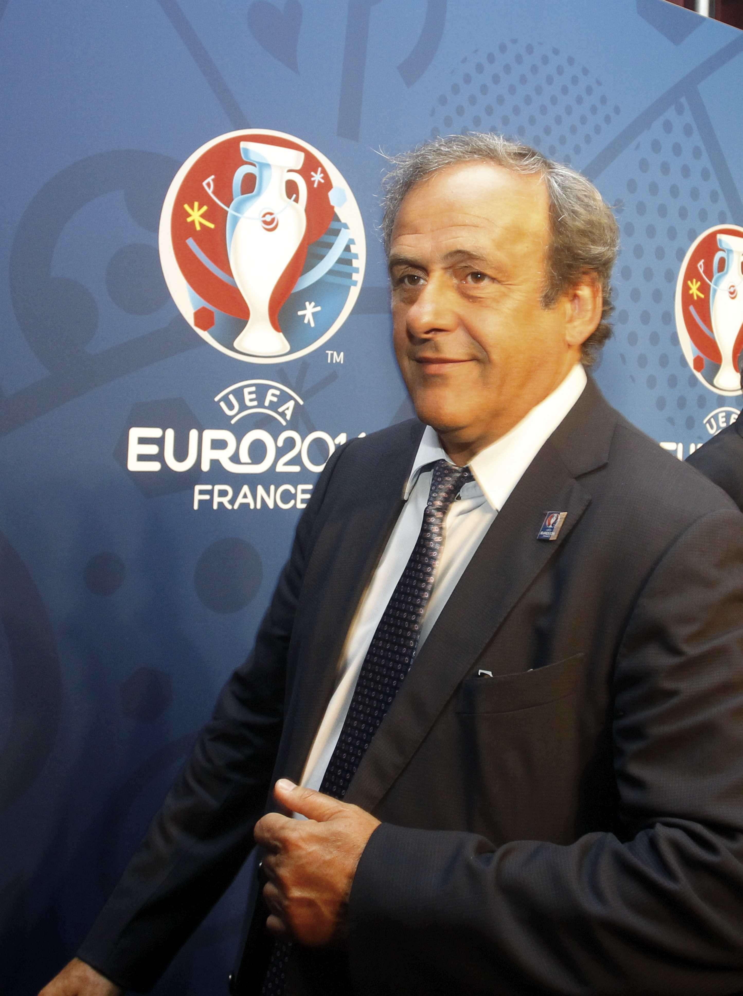 Platini accedió a dar ese dinero como presidente de UEFA. Foto: Getty Images