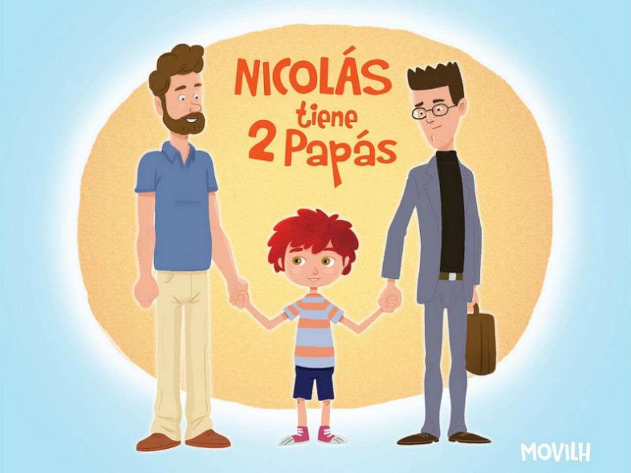 De acuerdo a estudios del Movilh, 10 por ciento de las parejas del mismo sexo en Chile declara tener hijos. Foto: Movilh