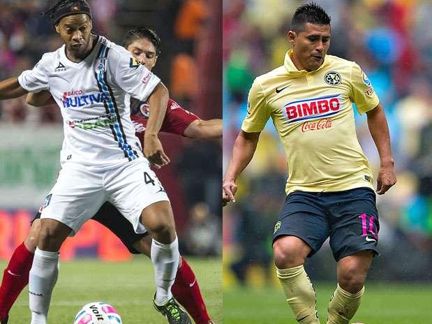 Querétaro vs. América Foto: Mexsport