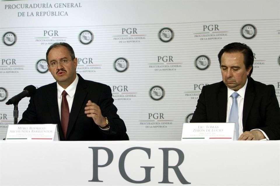 Archundia es el responsable de las investigaciones ministeriales sobre los 43 desaparecidos en Iguala. Foto: Reforma